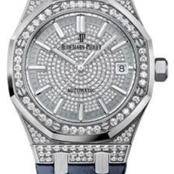 Audemars Piguet - Royal Oak Lady Self Winding 37mm - White Gold