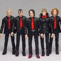 My Chemical Romance Figure Set Of 5