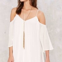 Tessa Cold Shoulder Mini Dress