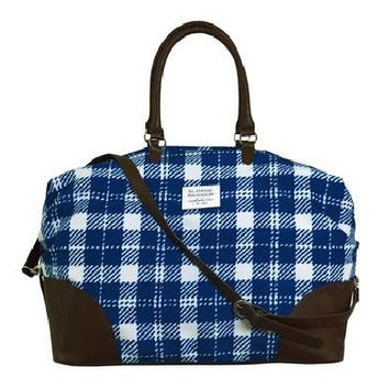 classic check weekender