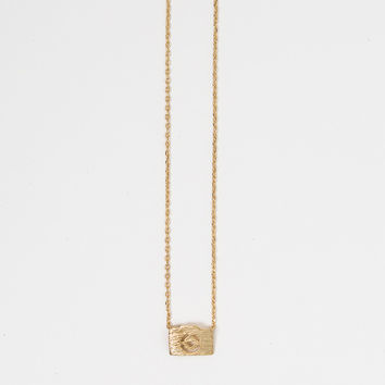 Kaitlyn Gold Camera Necklace