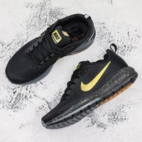 Nike Air Zoom Structure 21 Black Gold Running Shoes - Best Deal Online
