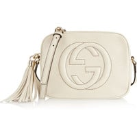 Gucci - Soho textured-leather shoulder bag
