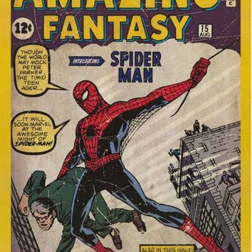 Spider-Man Amazing Fantasy #15 Poster 24x36