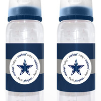 Dallas Cowboys Baby Bottle 2 Pack