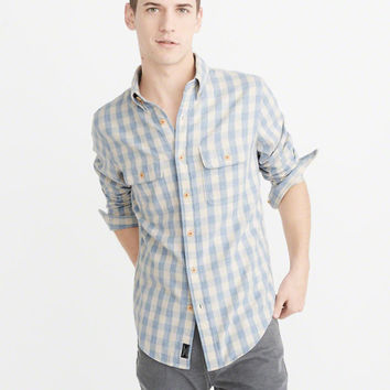 Mens Flannel Shirt | Mens New Arrivals | Abercrombie.com