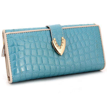 Leather Ladies Bags Stylish Fashion Wallet [9248532356]