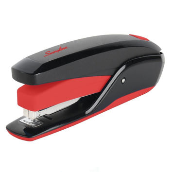 Swingline Stapler Quick Touch Full Strip 20 Sheets Black/Red (S7064507) Red