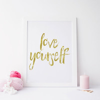 Justin Bieber quote, song lyric art, Purpose album Love Yourself lyrics dorm decor song quotes Justin Bieber Quote INSTANT DOWNLOAD PRINT