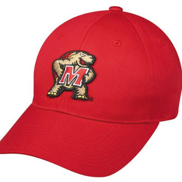 Maryland Terrapins YOUTH Cap NCAA Officially Licensed Adjustable Velcro Replica Football/Baseball Hat