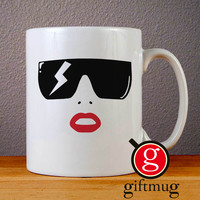 Lady Gaga Logo Ceramic Coffee Mugs