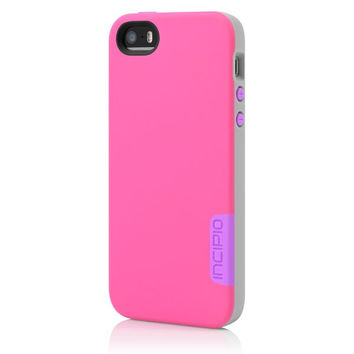 The Incipio Pink / Gray / Purple Phenom™ Lightweight Case with Phenomenal Drop Protection for iPhone 5-5s