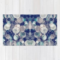 Bubblewood series n2 Area & Throw Rug by Webgrrl