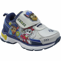 Paw Patrol Toddler Boys Athletic Shoes, 8, Blue/Gray/Yellow