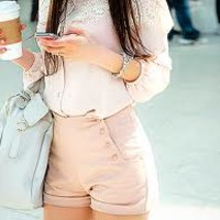 high waisted shorts - Google Search
