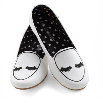 Loly in the Sky — Girl white twinkle flats - Loly in the sky - Spring/Summer 2013 Collection