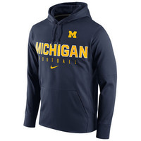 NCAA Michigan Wolverines Mens Circuit Pullover Hoodie