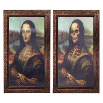 Mona Lisa Horror 3D Changing Face Picture Frame