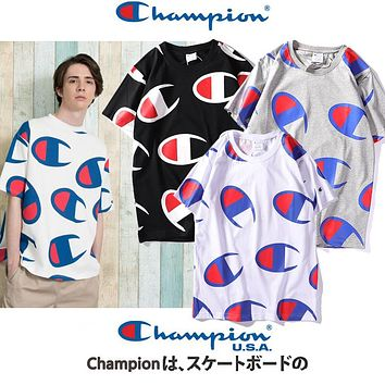 2019 Champion Big Logo Tshirt M--XXL