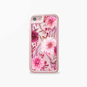 Fall Phone Cases Floral iPhone 7 Case Floral iPhone 6 Plus Case iPhone 7 Plus Case iPhone 6 Case Floral  Berries INTERCHANGEABLE iPhone Case