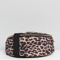 ASOS LIFESTYLE Leopard Print Fanny Pack at asos.com