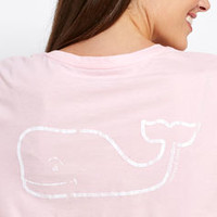 Long-Sleeve Whale Poolside Pocket Tee