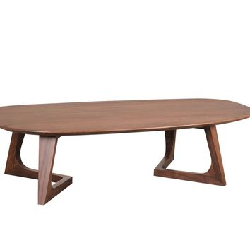 Godenza Coffee Table Walnut Solid American Walnut Wood