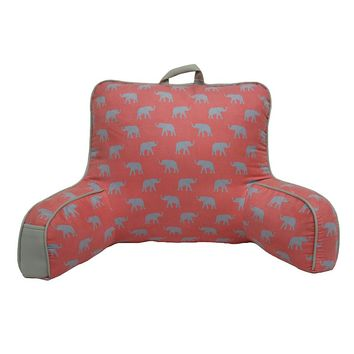 Simple by Design Elephant Backrest Pillow (Pink)