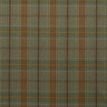 Mulberry Fabric FD344.R106 Shetland Plaid Lovat