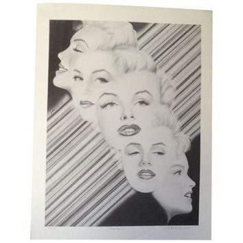 Pre-owned Marilyn Signed Print by Moore
