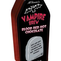 McSteven's Retail Store - Coffin Cafe Vampire Brew Blood Red Hot Chocolate