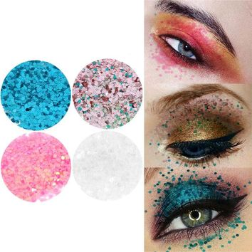 Shining Sexy Christmas Makeup 10g Nail Art Eyeshadow DIY Body Tattoo Makeup Mixed Glitter Powder Sequins Varnish Decoration Tips