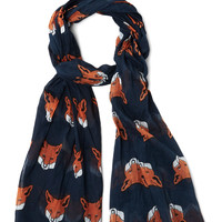 Mischief Maker Scarf in Navy | Mod Retro Vintage Scarves | ModCloth.com