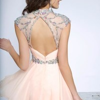 2014 JVN by Jovani Beaded Homecoming Dress JVN90399