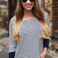 Navy Way Lightweight Knit