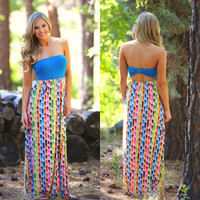 Color Your World Happy Maxi Dress
