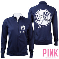New York Yankees Victoria's Secret PINK® Track Jacket - MLB.com Shop