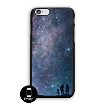 Trippy Stars Texture Sandstone iPhone 5, 5S Case