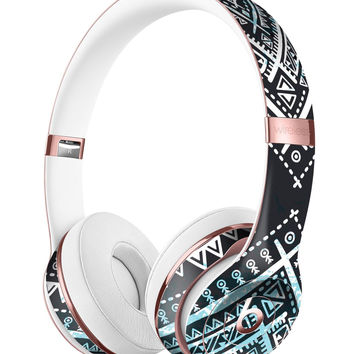 Ethnic Aztec Navy Point Full-Body Skin Kit for the Beats by Dre Solo 3 Wireless Headphones