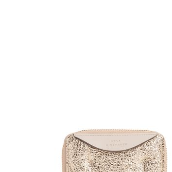 Anya Hindmarch Small Chubby Metallic Leather Zip Around Wallet | Nordstrom