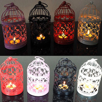 New style Europe Retro candle holders Hollow metal candlestick home decoration candelabros wedding candelabra moroccan lanterns