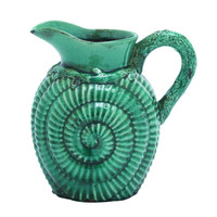 Classic Ceramic Pitcher Accented with a Distinctive Pattern