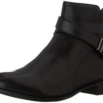 Anne Klein Kael Women US 7.5 Black Ankle Boot