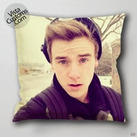 Connor Franta Actrees YouTube vlogger Amerika Pillow Case, Chusion Cover ( 1 or 2 Side Print With Size 16, 18, 20, 26, 30, 36 inch )