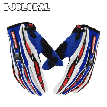 Fashion Motorcycle Motorbike Racing Cycling Gloves Men Women Bicycle MTB Dirt Bike Motocross Off-Road Riding Gloves, 4 Colors