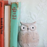 athena's faithful owl figurine at ShopRuche.com
