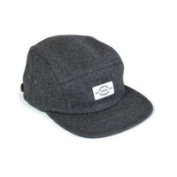 MELTON WOOL CAP