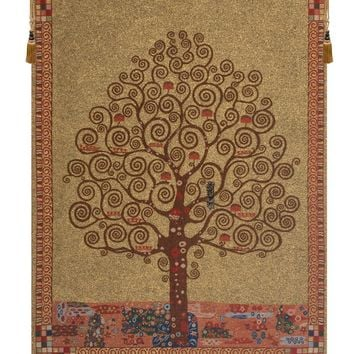 Klimts Tree Of Life Tapestry Wall Art Hanging 71