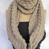 Tricot  Unisex Infinity Scarf