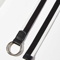 O-Ring Striped Belt | Urban Outfitters